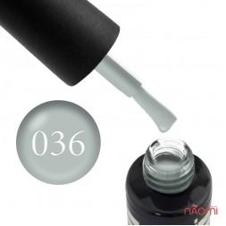 Гель-лак Oxxi Professional 036 голубо-серый, 8 мл