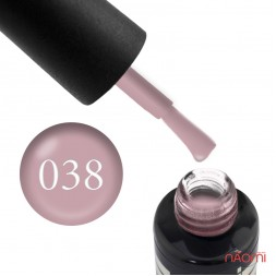 Гель-лак Oxxi Professional 038 пастельный бежево-розовый, 8 мл