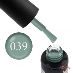 Гель-лак Oxxi Professional 039 приглушенный серо-голубой, 8 мл