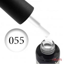Гель-лак Oxxi Professional 055 білий, 10 мл