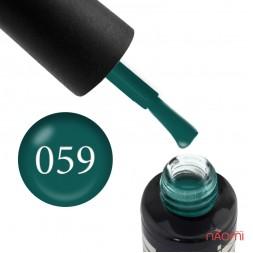 Гель-лак Oxxi Professional 059 зеленый бутылочный, 8 мл