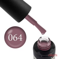 Гель-лак Oxxi Professional 064 темный серо-розовый, 10 мл