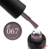 Гель-лак Oxxi Professional 067 розово-кофейный, 10 мл