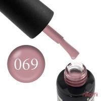 Гель-лак Oxxi Professional 069 розовое какао, 10 мл