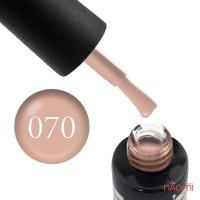 Гель-лак Oxxi Professional 070 бледный розово-персиковый, 10 мл