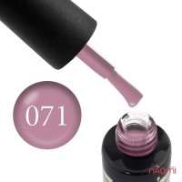 Гель-лак Oxxi Professional 071 светлый серо-розовый, 10 мл