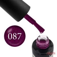 Гель-лак Oxxi Professional 087 вишневый с микроблеском, 10 мл