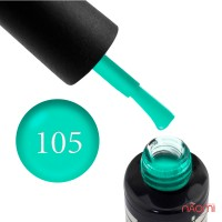 Гель-лак Oxxi Professional 105 светлый бирюзовый, эмаль, 8 мл