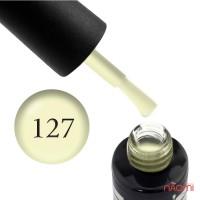 Гель-лак Oxxi Professional 127 светлый лимонный, эмаль, 8 мл