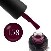 Гель-лак Oxxi Professional 158 винный, 10 мл