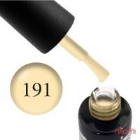 Гель-лак Oxxi Professional 191 светлый желтый, эмаль, 8 мл