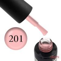 Гель-лак Oxxi Professional 201 светлый персиково-розовый, 10 мл