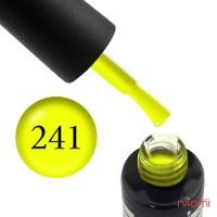 Гель-лак Oxxi Professional 241 яскравий лимонно-жовтий, неоновий, 10 мл