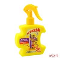 Молочко клевое детское KLYAKSA для безопасного загара SPF-30, 200 мл
