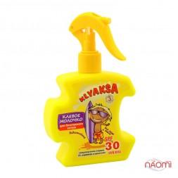 Молочко просто казкове дитяче KLYAKSA для безпечної засмаги SPF-30, 200 мл