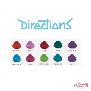 Фарба для волосся Directions Neon Blue відтінкова, 89 мл