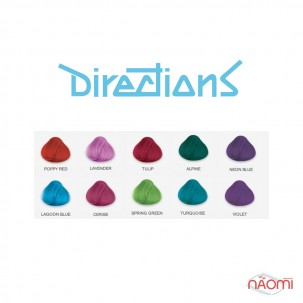 Краска для волос Directions Lagoon Blue оттеночная, 89 мл