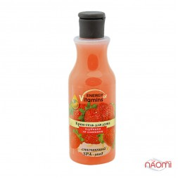 Крем-гель для душу ENERGY of Vitamins Полуниця з вершками, 250 мл