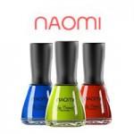 Лаки для нігтів Naomi