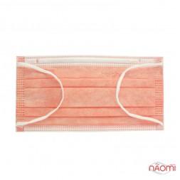 Маска на лицо Fiomex Begreat Premium, цвет оранжевый, 50 шт.