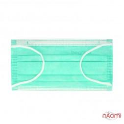 Маска на лицо Fiomex Begreat Premium, цвет зеленый, 50 шт.
