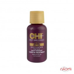 Масло для придания блеска CHI Deep Brilliance Olive Monoi Shine Serum, 15 мл
