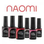 Гель лаки для ногтей Naomi
