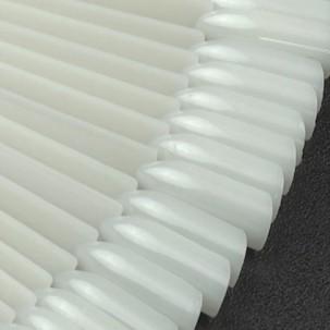 Типсы для образцов на кольце прямоугольные матовые 12 см, 50 шт.