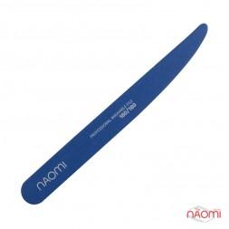 Пилка для ногтей Naomi 180/180 нож, цвет синий