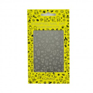 Пластина для стемпинга Konad Square Image Plate Honeymoon