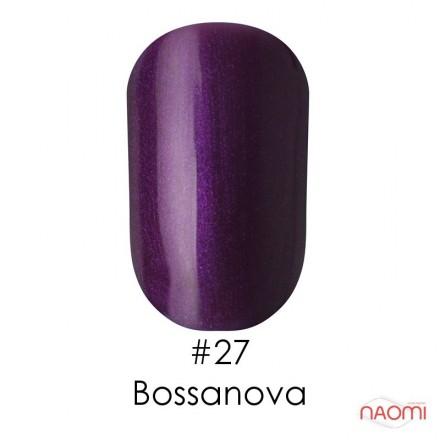Гель-лак Naomi 027  Bossanova темный фиолетово-сливовый, 6 мл, фото 1, 55.00 грн.