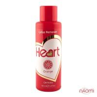 Щелочной пилинг для педикюра Heart Callus&Cuticle Remover Апельсин, 100 мл
