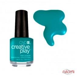 Лак CND Creative Play 432 Head Over Teal, голубо-зеленый, 13,6 мл