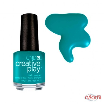 Лак CND Creative Play 432 Head Over Teal, голубо-зеленый, 13,6 мл, фото 1, 129.00 грн.