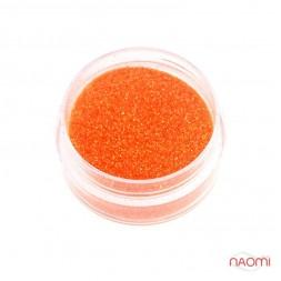 Декор для ногтей в баночке Starlet Professional (b) Песок, цвет оранжевый