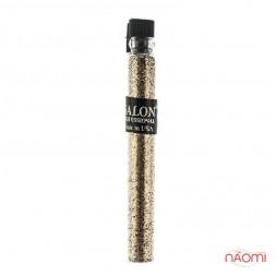 Блестки Salon Professional, размер 008 002 цвет золото, в пробирке