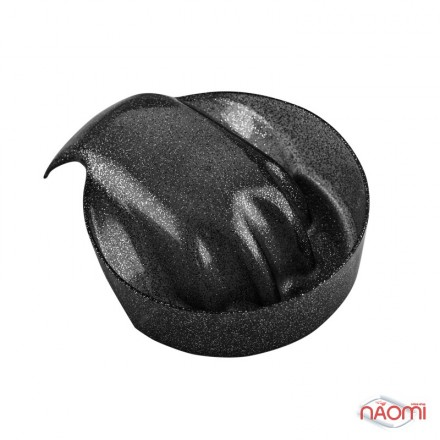 Ванночка для маникюра гламур, цвет черный, фото 1, 29.00 грн.