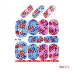 Слайдер-дизайн N 258 Квіти, Фімодизайн