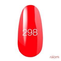 Гель-лак Kodi Professional 298 червоно-кораловий, 8 мл
