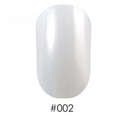 Лак Naomi 002 перламутрово-жемчужный белый, 12 мл