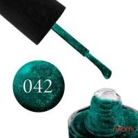 Лак NUB 042 Royal Emerald изумрудно-зеленый, 14 мл