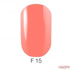 Гель-лак для ногтей Go Fluo 015 розово-коралловый, флуоресцентный, 5,8 мл