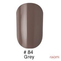 Гель-лак Naomi 084 Grey cветлий сіро-ліловий, 6 мл