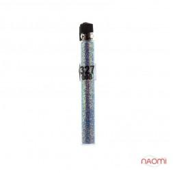 Блестки Salon Professional, размер 008 327, цвет голубой, в пробирке