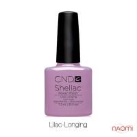 CND Shellac Lilac Longing сиреневый, 7,3 мл