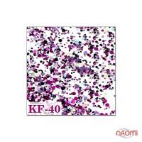 Декор для ногтей конфетти (камифубуки) KF 040