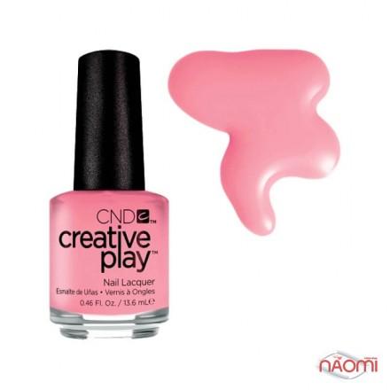 Лак CND Creative Play 404 Oh Flamingo, розовый, 13,6 мл, фото 1, 139.00 грн.