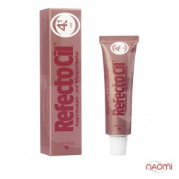 Фарба для брів і вій RefectoCil №4.1 Red, колір червоний, 15 мл