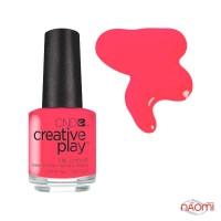 Лак CND Creative Play 410 Coral Me Later, оранжево-рожевий, 13,6 мл