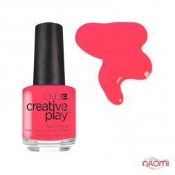 Лак CND Creative Play 410 Coral Me Later, оранжево-розовый, 13,6 мл